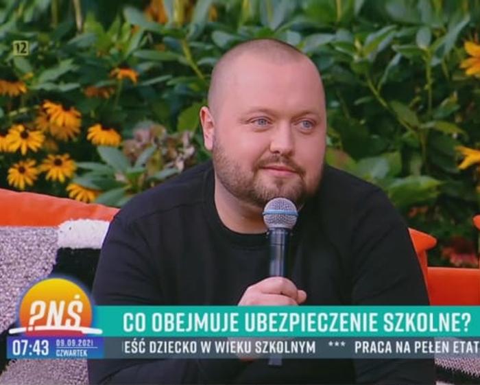 Jacek Niedaltowski w Pytanie na śniadanie